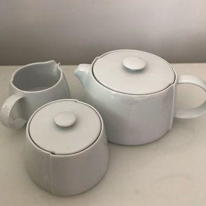 🎄🎁 Denby teapot, sugar bowl & creamer set